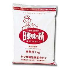【送料無料】ヤマサ醤油 ヤマサグルタミン酸ソーダ 日東味の精(業務用)1kg袋×1ケース(全15本)