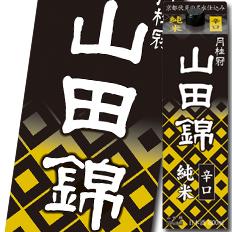 【送料無料】京都府・月桂冠 山田錦 純米1.8Lパック×2ケース(全12本)