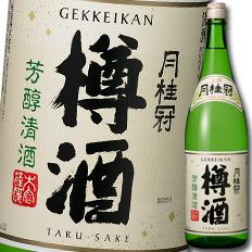 【送料無料】京都府·月桂冠 上撰 樽酒1.8L瓶×1ケース(全6本)