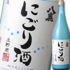 【送料無料】大分県・八鹿酒造 八鹿 にごり酒1.8L×1ケース(全6本)