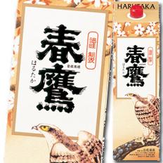 【送料無料】京都・宝酒造 春鷹 紙パック1.8L×2ケース(全12本)
