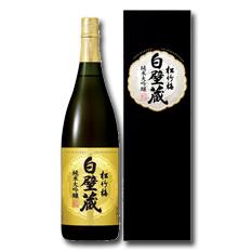 【送料無料】京都・宝酒造 松竹梅白壁蔵 純米大吟醸(カートン入)1.8L瓶×1ケース(全6本)