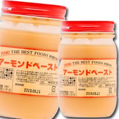 【送料無料】ユウキ食品 アーモンドペースト400g×1ケース(全12本)