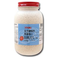 【送料無料】ユウキ食品 化学調味料無添加の貝柱だし400g×2ケース(全24本)