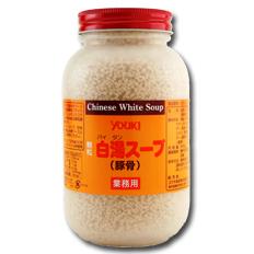 【送料無料】ユウキ食品 白湯スープ500g×2ケース(全24本)
