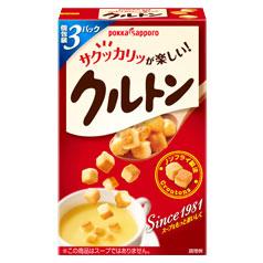 ポッカサッポロ ポッカクルトンR(スープ用)(21.0g×3袋入)×1ケース(全30本)
