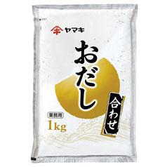 【送料無料】ヤマキ おだし(合わせ)1kg×2ケース(全12本)