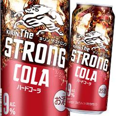 【送料無料】キリン キリン・ザ・ストロング ハードコーラ500ml缶×1ケース(全24本)