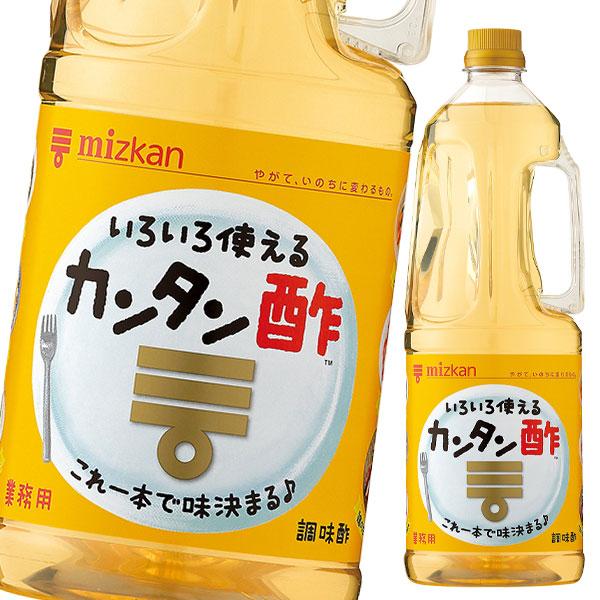 【送料無料】ミツカン カンタン酢 1.8L×2ケース(全12本)