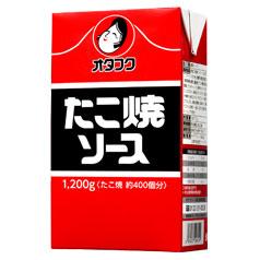 【送料無料】オタフクソース オタフク たこ焼ソース 紙パック1200g×2ケース(全30本)
