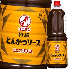 【送料無料】オタフクソース ユニオン 特級とんかつソース ハンディボトル1.8L×2ケース(全12本)