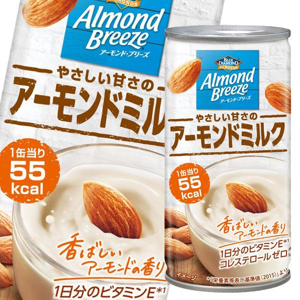 【送料無料】ポッカサッポロ アーモンド・ブリーズ やさしい甘さのアーモンドミルク185g缶×2ケース(全60本)