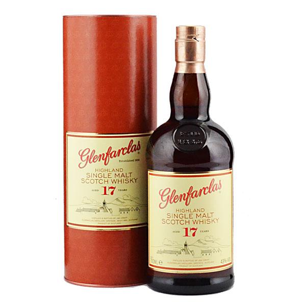 スコットランド・スペイサイド グレンファークラス蒸留所 グレンファークラス17年700ml瓶(箱付)×1ケース(全6本)