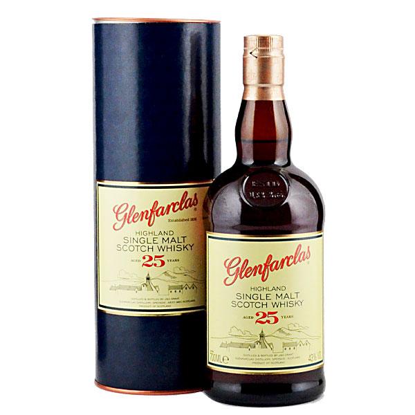 【送料無料】スコットランド・スペイサイド グレンファークラス蒸留所 グレンファークラス25年700ml瓶(箱付)×2ケース(全12本)