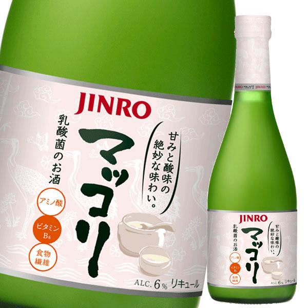 北海道は850円 沖縄は3100円の別途送料を頂戴します 超定番 送料無料 眞露 着後レビューで 送料無料 マッコリ375ml瓶×1ケース JINRO 全20本 ジンロ