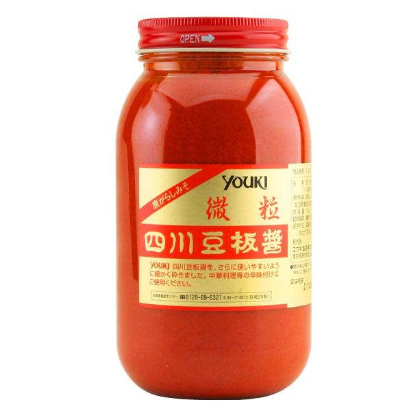 【送料無料】ユウキ 四川豆板醤(微粒)1kg×2ケース(全24本)