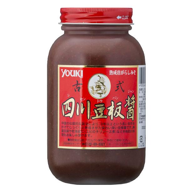 【送料無料】ユウキ 古式四川豆板醤1kg×2ケース(全24本)