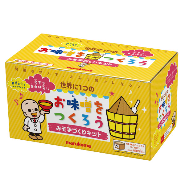 【送料無料】マルコメ オリジナルみそ手作りキット1セット箱×2ケース(全12本)