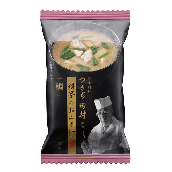 【送料無料】マルコメ フリーズドライ つきぢ田村 鯛汁1食入袋×2ケース(全160本)