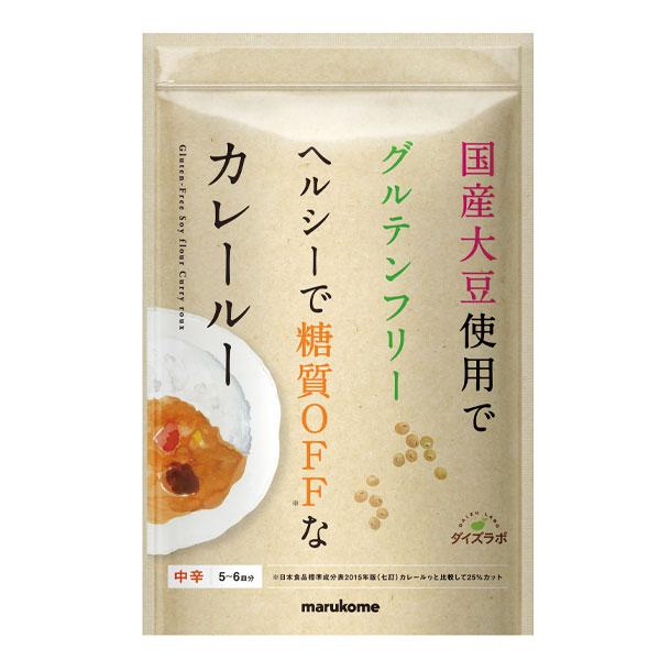 【送料無料】マルコメ ダイズラボ 大豆粉のカレールー(5~6人分)120gチャック付袋×2ケース(全80本)