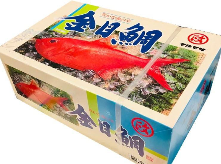 金目鯛 10kg 業務用 (1枚200~300g)【フィレーIQF・バラ凍結で便利】定食屋・旅館・磯料理屋などでお使いいただけます【冷凍便】