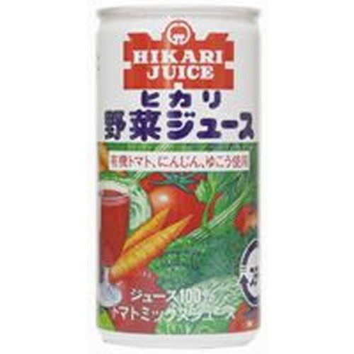 ヒカリ野菜ジュース(有塩)・60缶※送料無料(一部地域を除く)、ラッピング不可