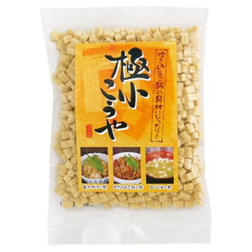 煮物以外の様々な料理にも幅広くご利用いただけます。 極小こうや(高野豆腐)70g【信濃雪】