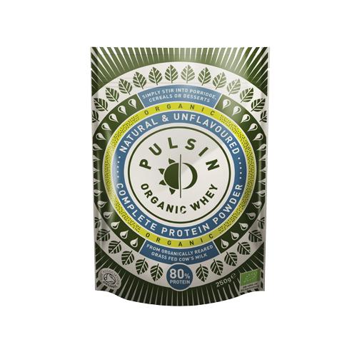オーガニックホエイ プロテインパウダー (250g) 【パルサン】