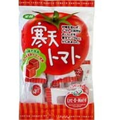 海外 砂糖を使わずに還元水飴を使いすっきりとした甘さに仕上げました 寒天トマト 5☆好評 110g 光陽製菓