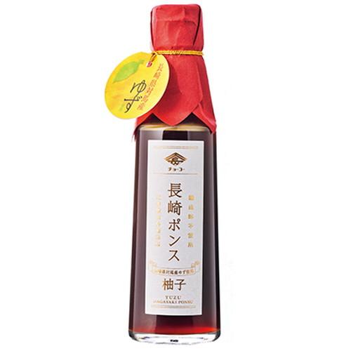 送料無料限定セール中 希少な長崎県対馬産ゆずの贅沢な香りと酸味が味わえる酢です 長崎ポンス 200ml チョーコー 新作からSALEアイテム等お得な商品満載