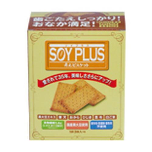【ジュゲン直送】SOYPLUS寿元ビスケット3枚(約40g)×6袋入×30箱セット※代引き・キャンセル・同梱不可
