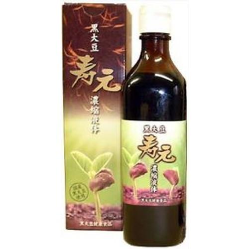 【ジュゲン直送】黒大豆寿元濃縮液体(715g)×12本セット※代引き・キャンセル・同梱不可