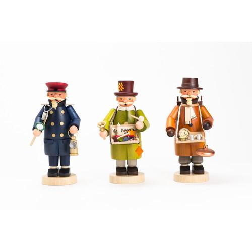 煙出し人形・玩具職人(GE146/1522)【ルタラー/Kunstgewerbe G.Lutherer GmbH&Co.KG】【6歳以上から】