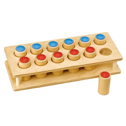 手の操作から判断する音の筒(TGCS2)【TAG社/THINK&GROW】【5歳頃から】