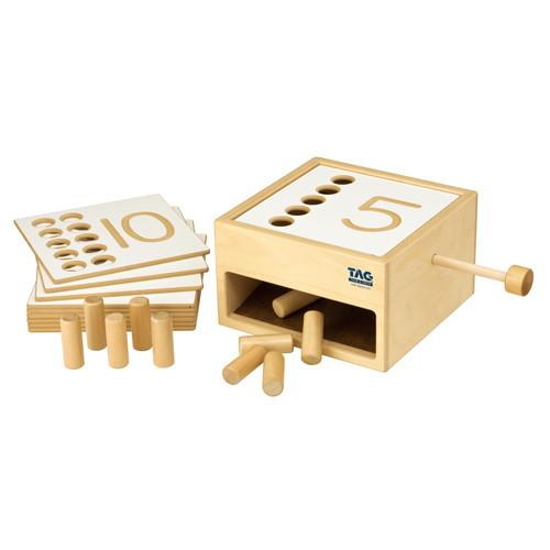 転ぶがり落ちてくる数の箱(TGCMR1)【TAG社/THINK&GROW】【5歳頃から】