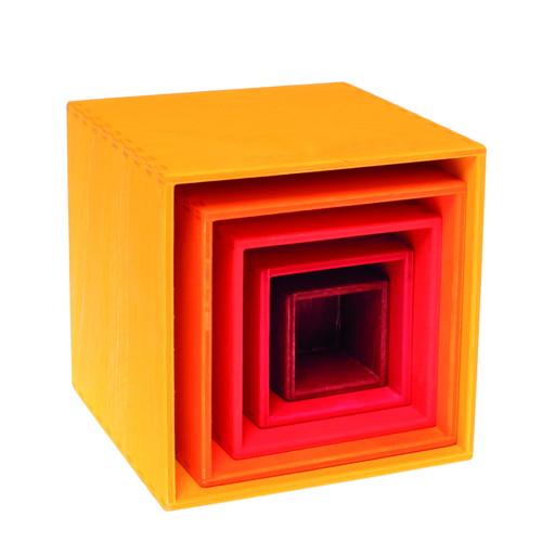 虹の箱・イエロー (GM10560) 【グリムス/Grimms】 【1歳から】