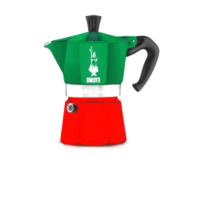 ビアレッティ モカエキスプレス イタリアカラー 6cup用(6杯用・6カップ用)