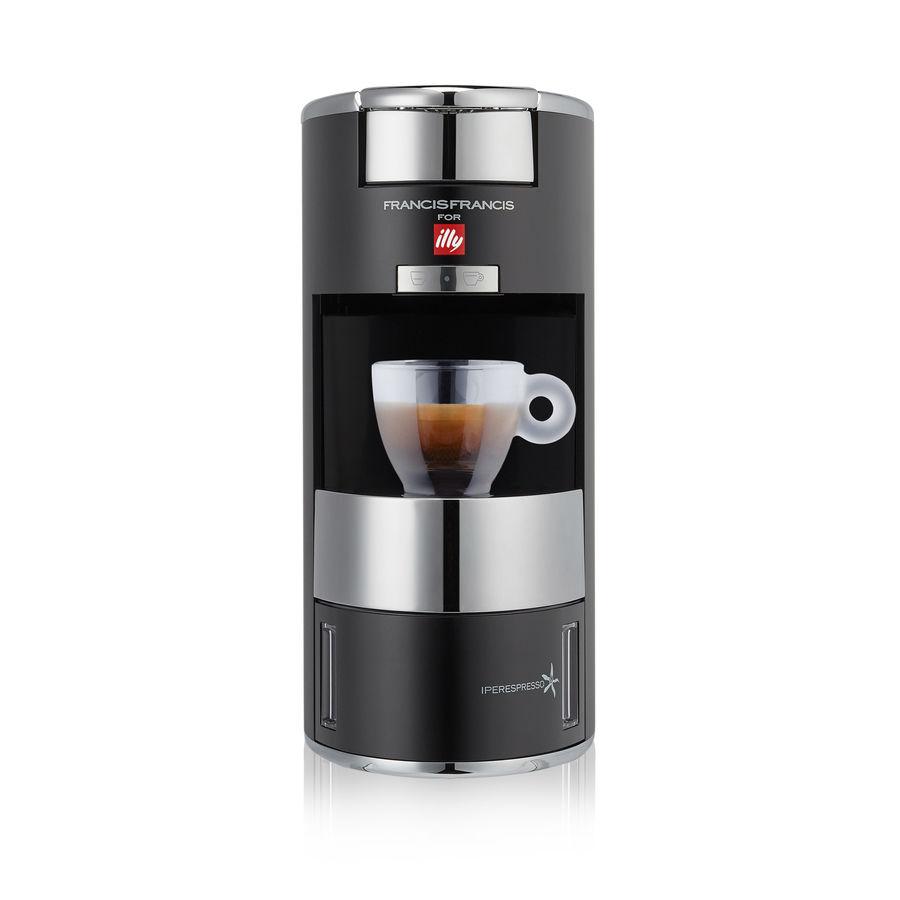 イリー /illy capsule type espresso machine FrancisFrancis! X9 color: Black  (black) (Francis Francis!)