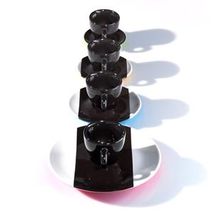 イリー アートコレクション(illy Art Collection)ダニエル・ビュラン(DANIEL BUREN) デミタスカップ(エスプレッソカップ)4客セット