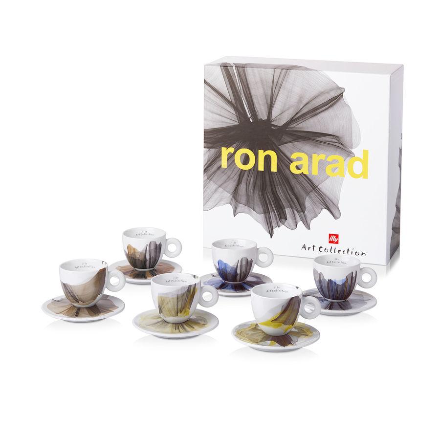 イリー アートコレクションilly Art Collectionロン アラッド(ron arad)カプチーノカップ6客セット
