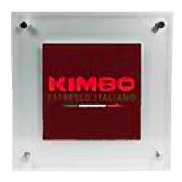 キンボ/KIMBO ロゴ入り 壁掛けロゴサイン1個