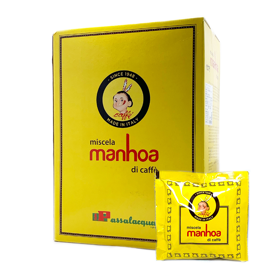 パッサラックア マンホア(manhoa)カフェポッド(44mm)150個【賞味期限2021年6月30日※注意事項あり】