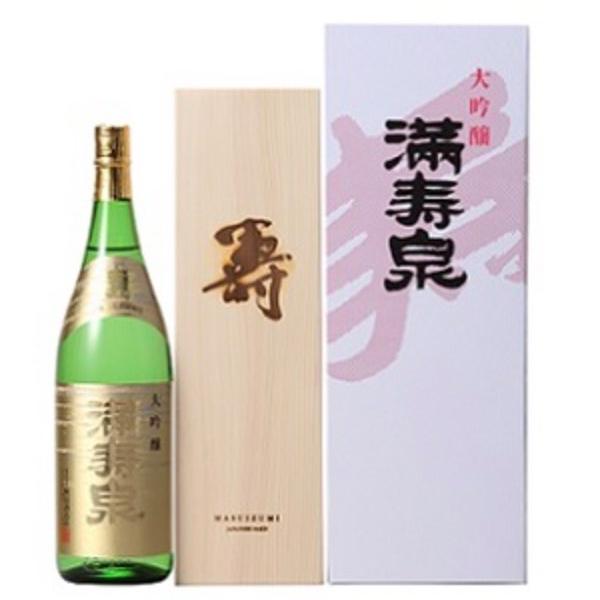 満寿泉 大吟醸「寿」1800ml(木箱入)