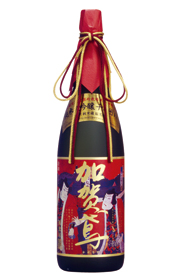 加賀鳶純米大吟醸千日囲い(錦絵ラベル)1800ml(化粧箱入)