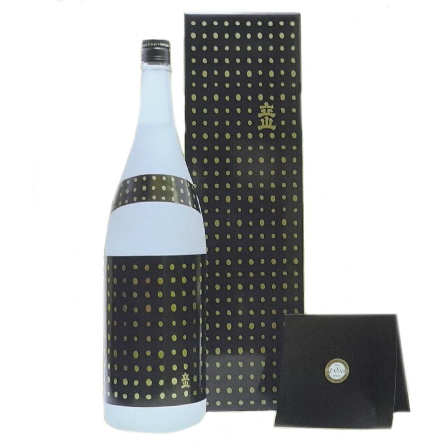 立山 無濾過大吟醸 愛山原酒 IWC GOLD 1800ml(化粧箱入)【要確認・2016年11月詰】