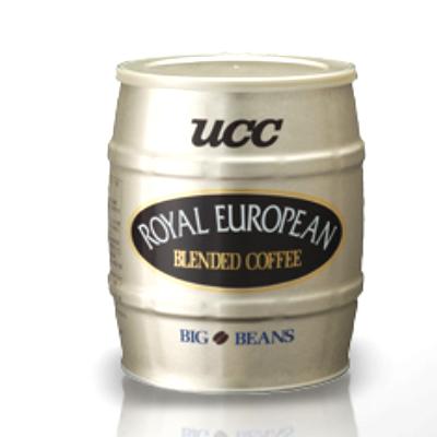 UCC ロイヤルヨーロピアンブレンド(缶)豆700g■■■6缶(1ケース)■■■※挽いてありません