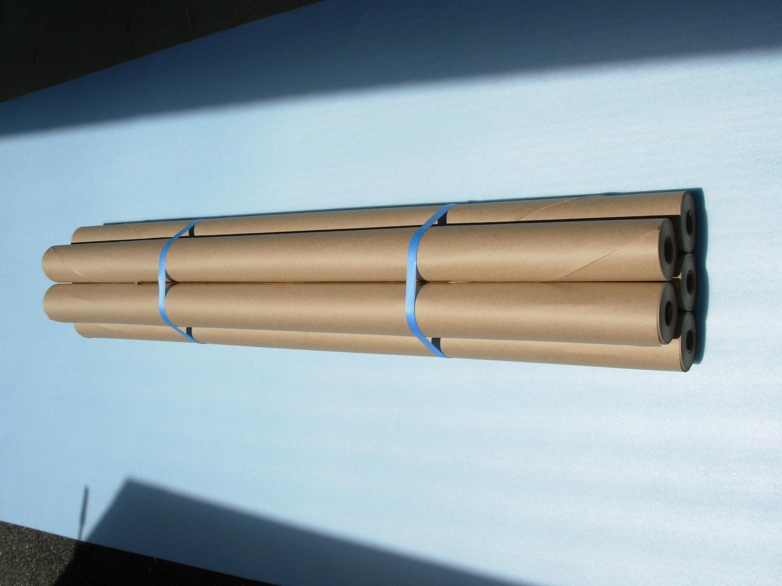 巻きクラフト紙(厚口)1000幅×50m巻(120本セット)