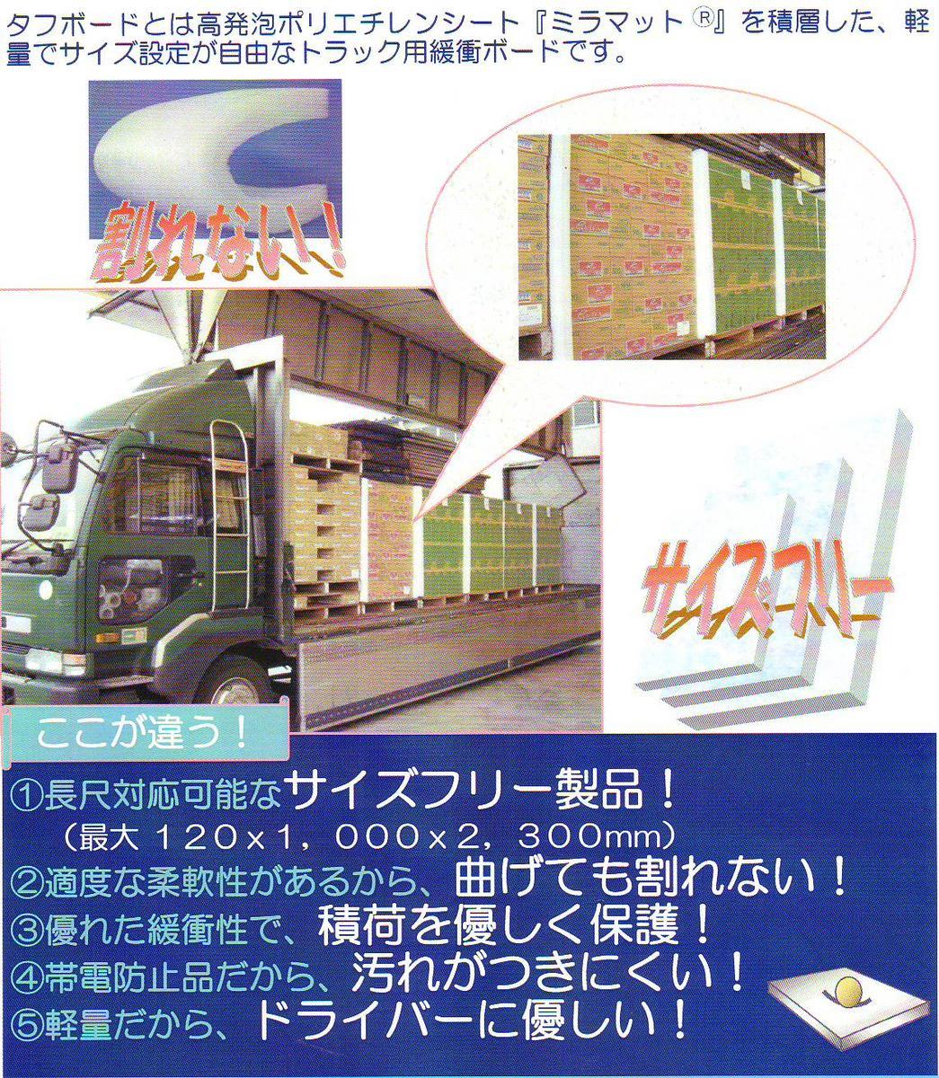 タフボード(40mm厚み)7枚セット【ソフトタイプ】