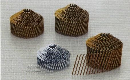 針金連結釘(スクリュー/山巻) NS2550