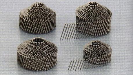ステンレス針金連結釘(スクリュー・リング・スムース/山巻) NC2565S(スムース)